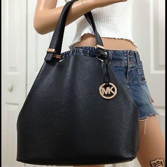 aa4f63ca01c1 Michael Kors Bags | Large Colgate Leather Grab Bagtote | Poshmark